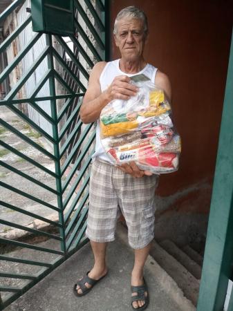 Acamados e deficientes já começaram a receber cestas de alimentos da SDS