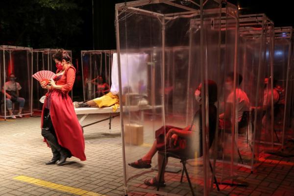 Grupo de teatro oferece experiência inédita e ao ar livre em São Paulo