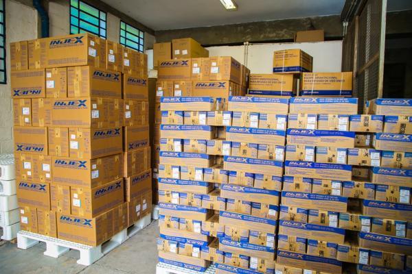Osasco já tem 400 mil seringas e agulhas para o início da vacinação contra a Covid-19