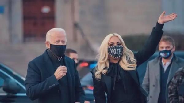 Lady Gaga irá cantar o Hino Nacional dos EUA na posse de Joe Biden