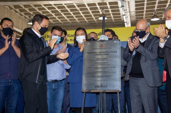Prefeitura e Governo do Estado entregam Terminal Metropolitano