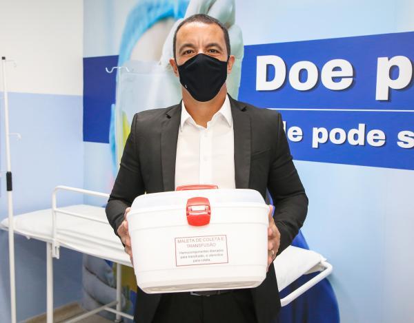Hospital Antônio Giglio já conta com sala de terapia  para receber plasma de curados do novo coronavírus