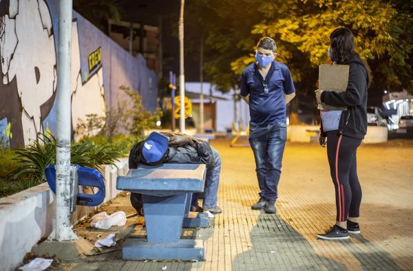 Baixa temperatura: Secretarias fazem ação conjunta em prol da população em situação de rua