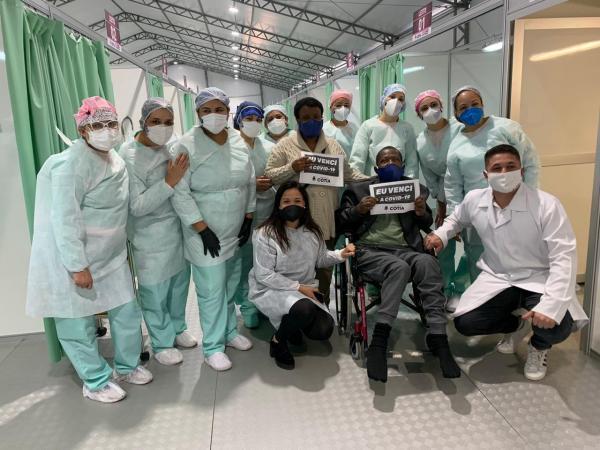 Taxa de pacientes recuperados da Covid-19 chega a 89%