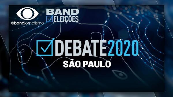 DEBATE NA BAND: SÃO PAULO - 01/10/2020 - COMPLETO
