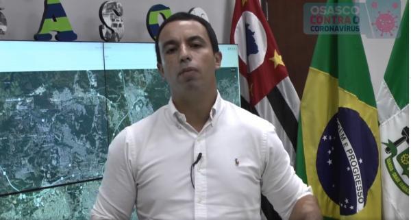 Prefeito de Osasco, Rogério Lins, fala sobre o Coronavírus na cidade