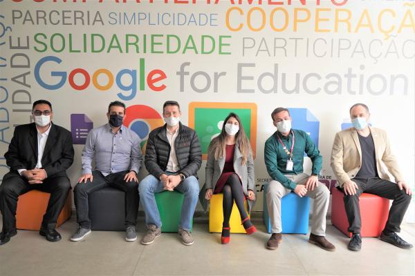 Barueri recebe o selo de maior Rede de Referência Google For Education