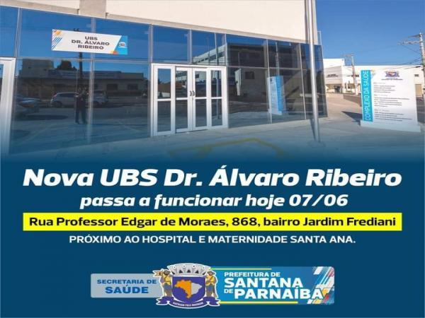 Nova UBS Dr Álvaro Ribeiro